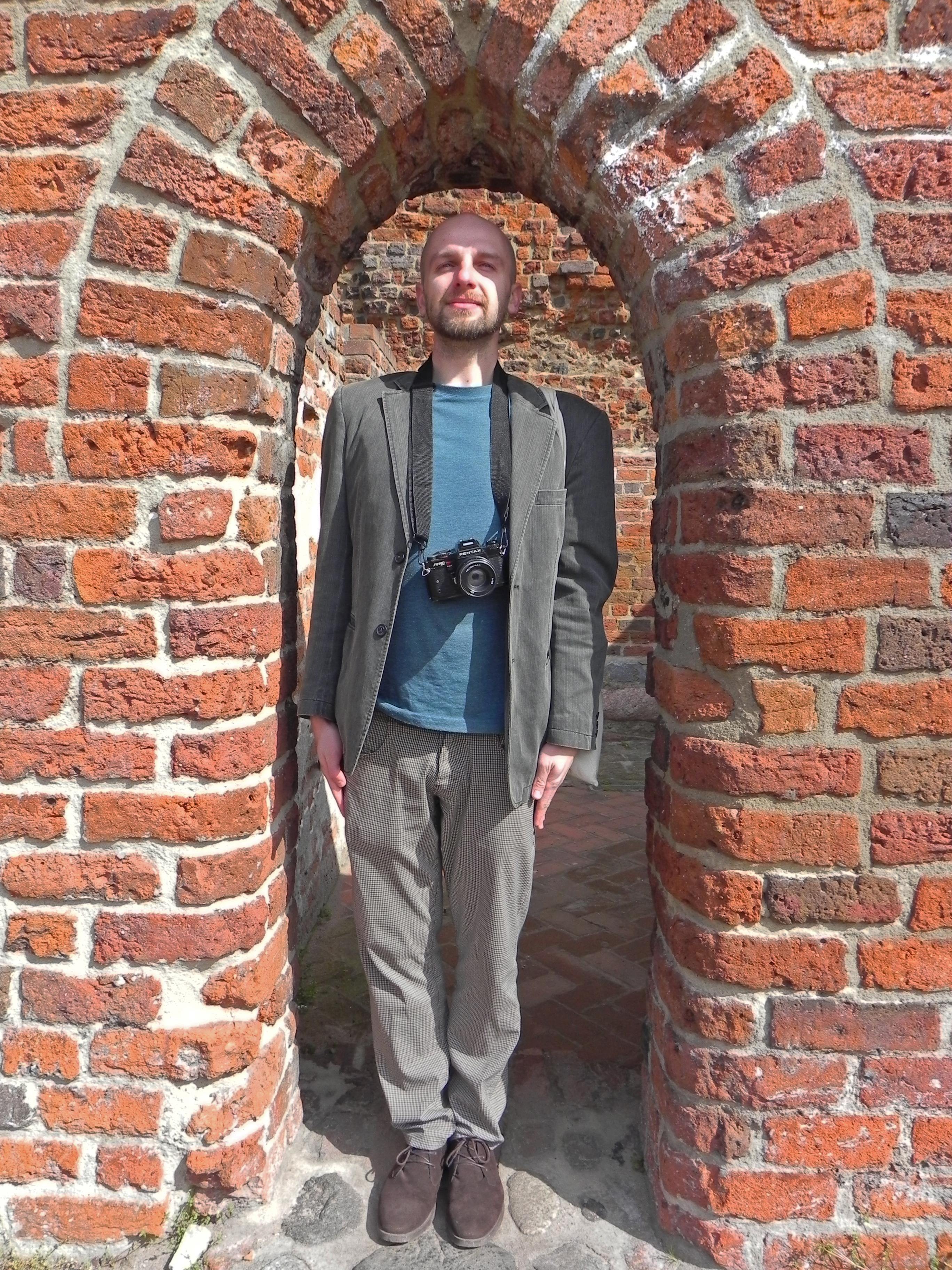 Grzegorz Wawrzyńczak _ zamek krzyżacki w Toruniu